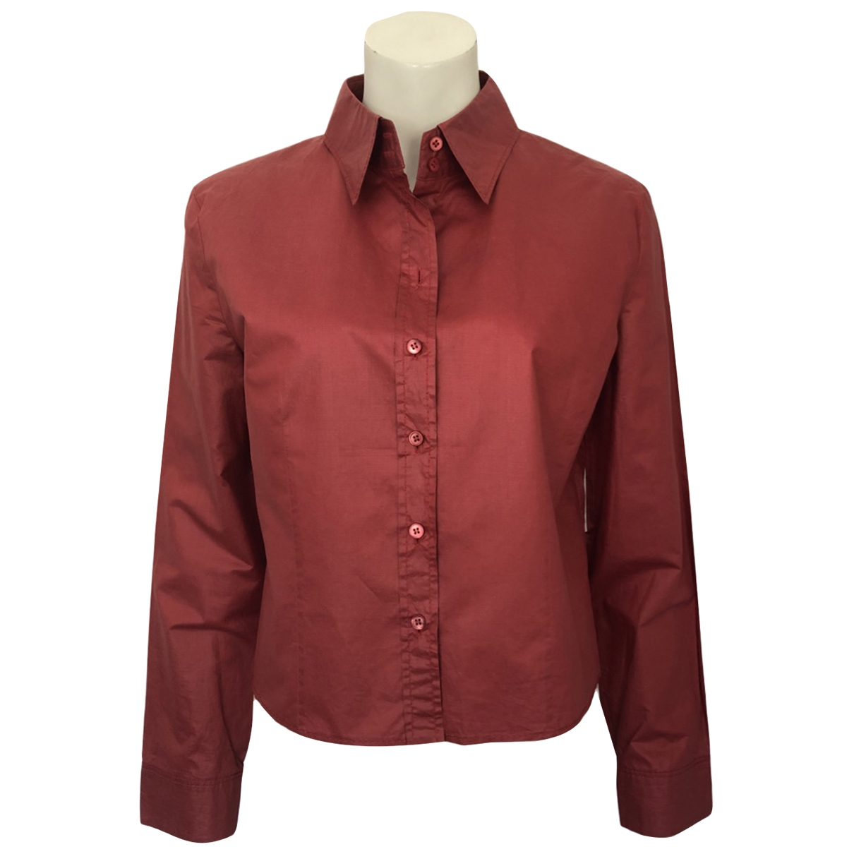 Strenesse \N Red Cotton  top for Women 40 FR
