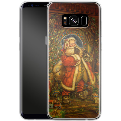 Samsung Galaxy S8 Silikon Handyhuelle - Myles Pinkeney - Christmas Presence von TATE and CO