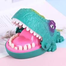 1 Stueck Fingerspiel-Dinosaurier-Streichspielzeug
