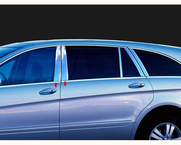 Quality Automotive Accessories 4-Piece Pillar Post Trim Kit Mercedes-Benz R-Class 2012
