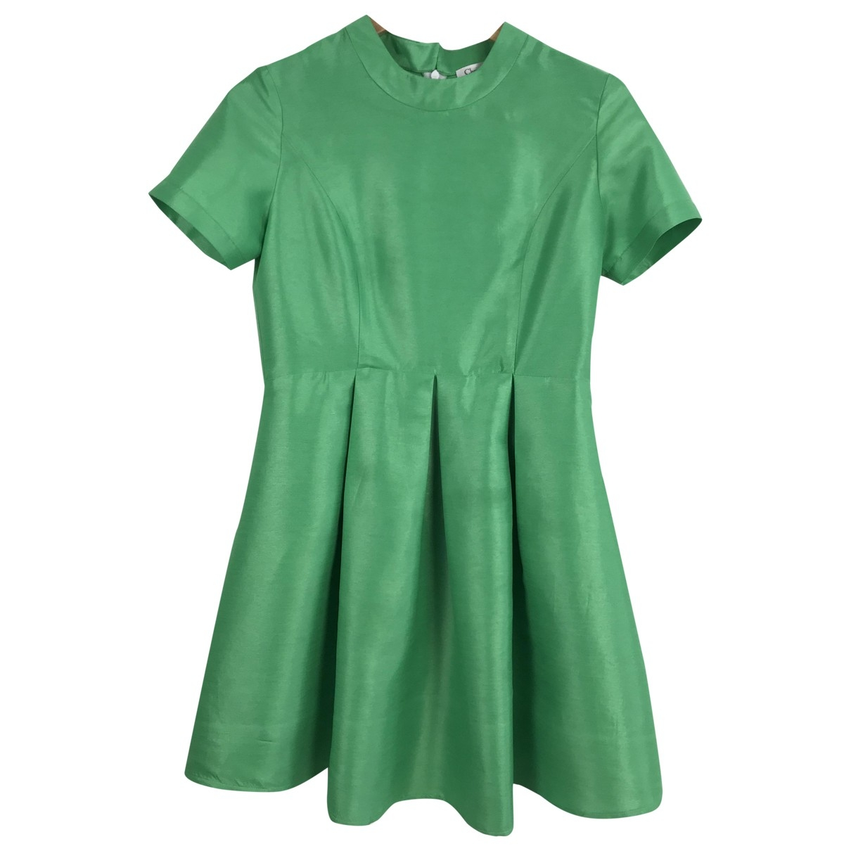 Dior - Robe   pour femme en soie - vert