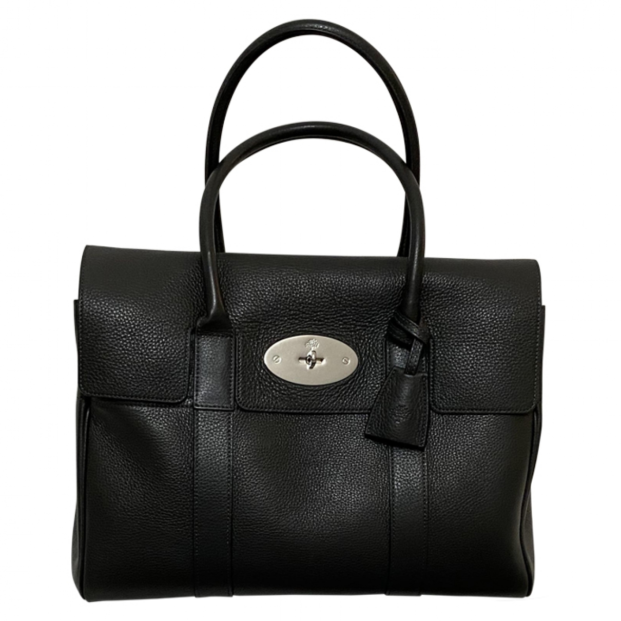 Mulberry Bayswater Grey Leather handbag for Women \N