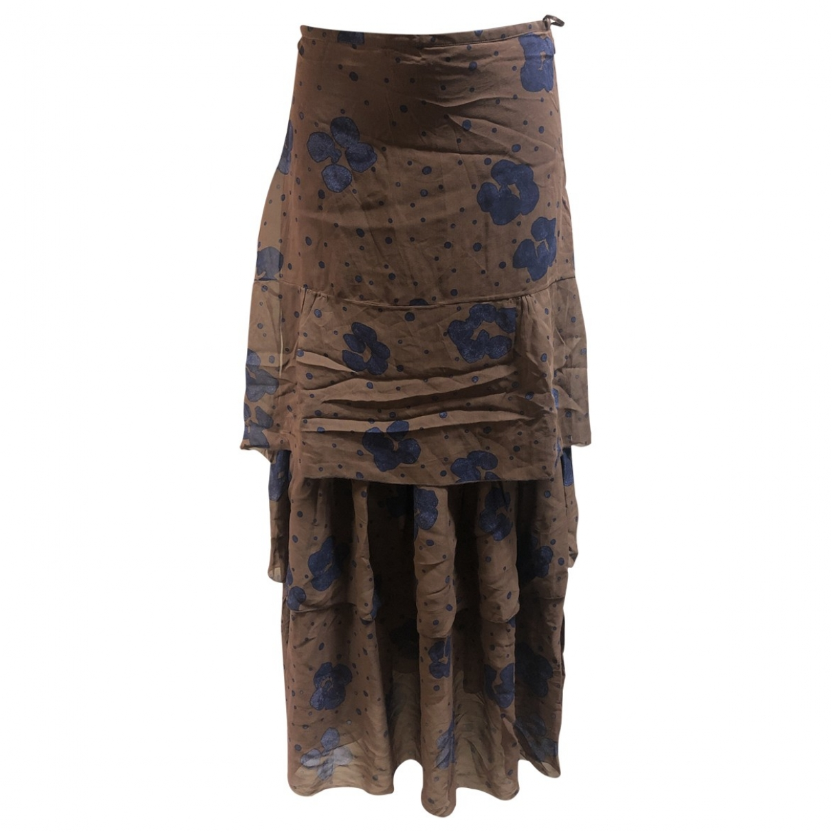 See By Chloé \N Brown Silk skirt for Women 38 IT