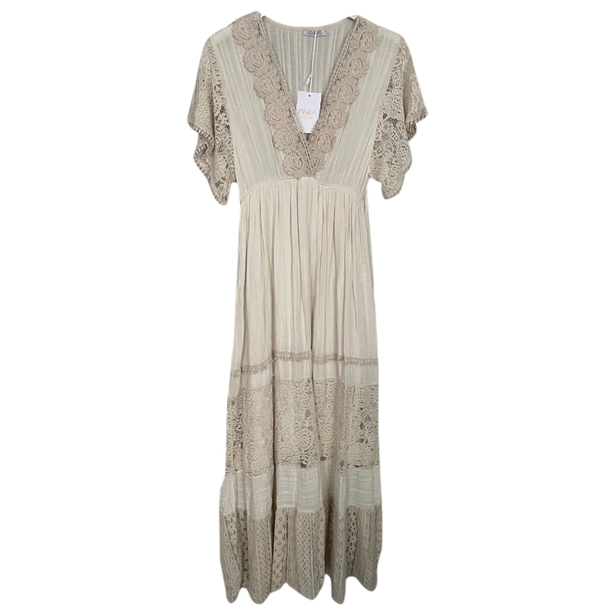 Non Signé / Unsigned \N Beige dress for Women One Size FR
