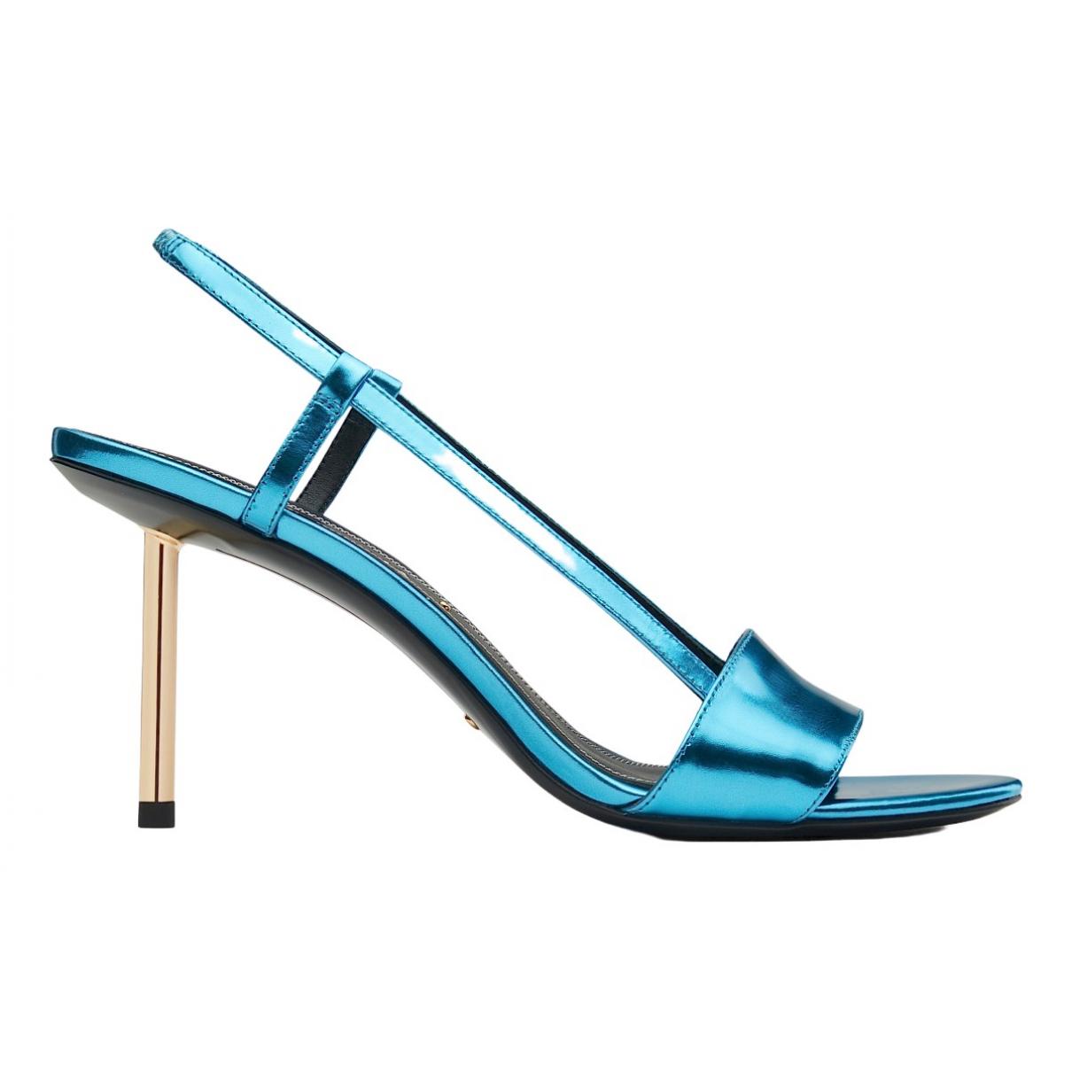 Stella Luna - Sandales   pour femme en cuir - bleu