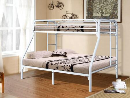 4502-3-TFWH Twin/Full Bunkbed Gloss in
