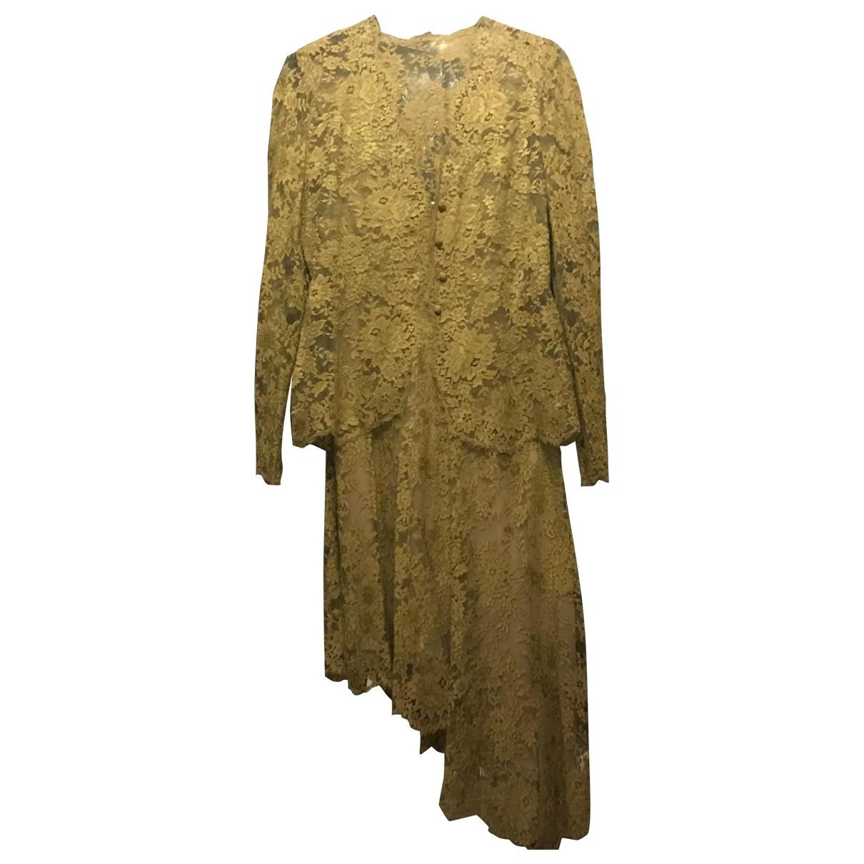 Valentino Garavani \N Kleid in  Gruen Seide