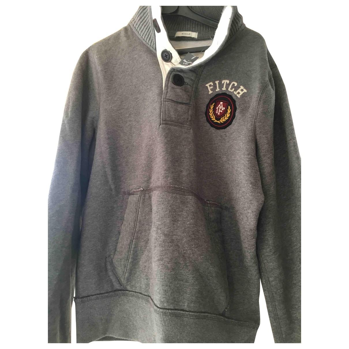 Abercrombie & Fitch \N Pullover.Westen.Sweatshirts  in  Grau Wolle