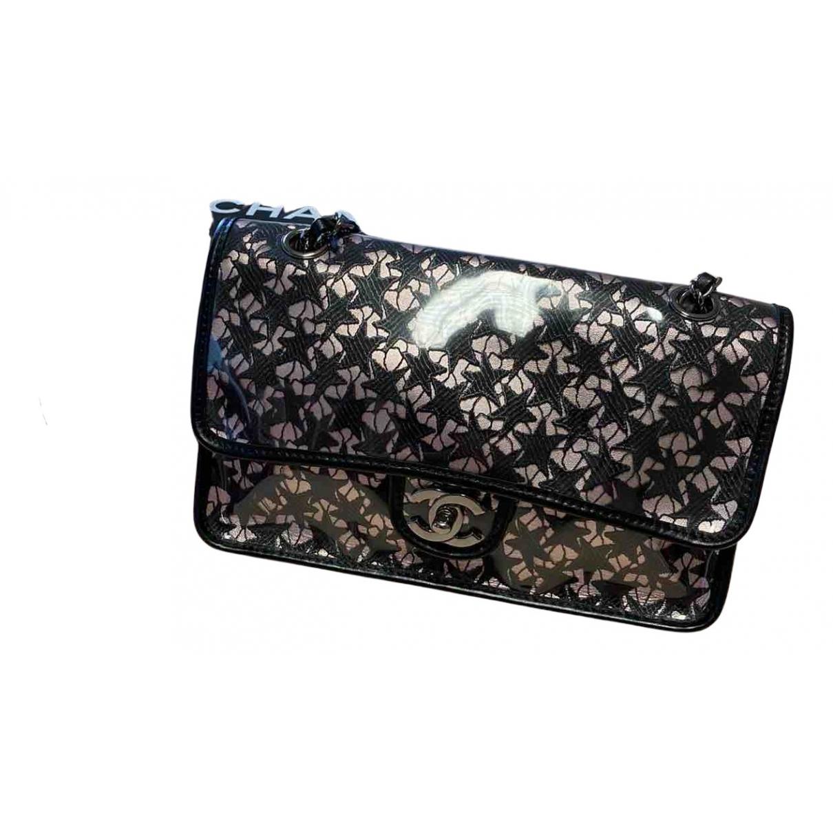 Chanel - Sac a main Timeless/Classique pour femme en cuir - multicolore