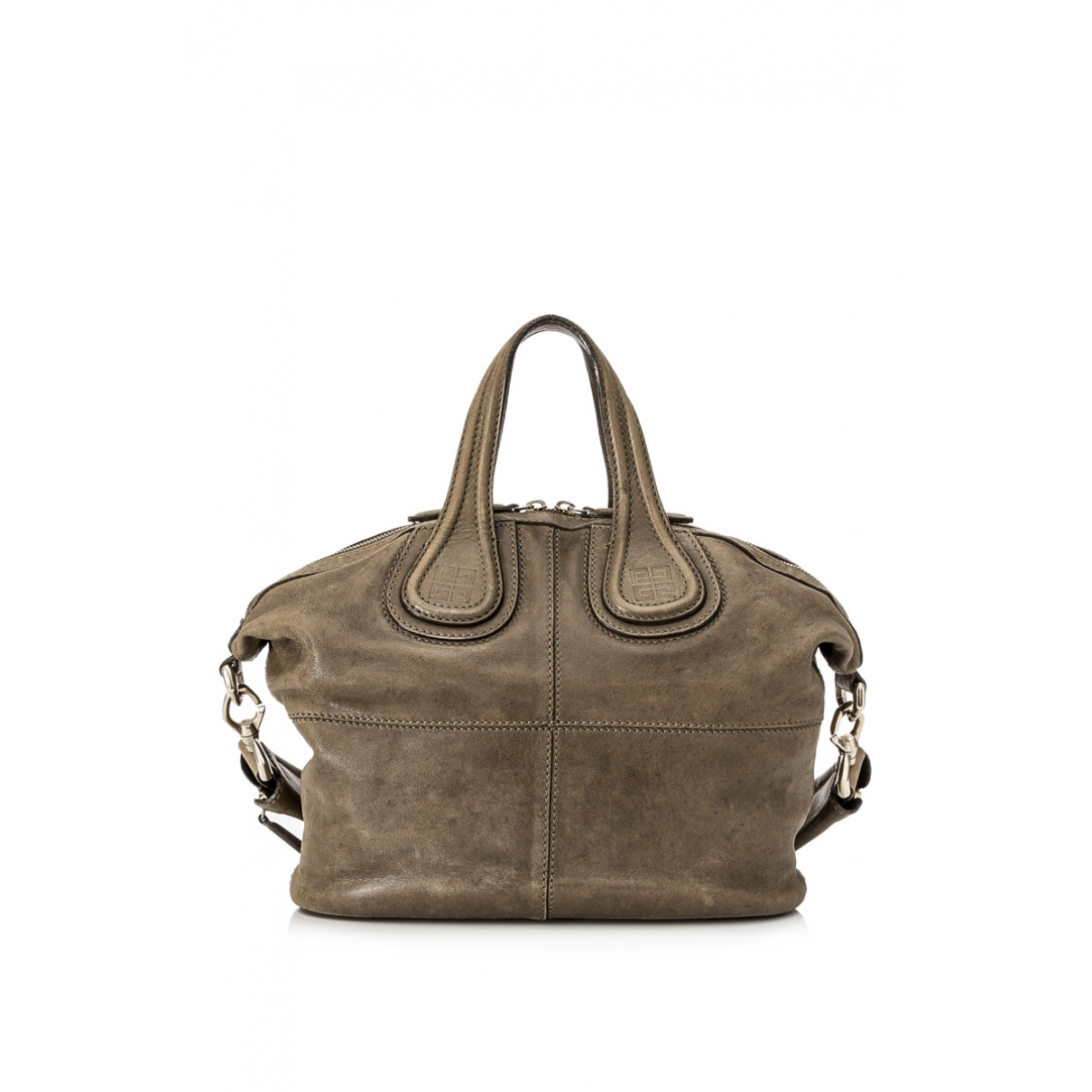 Givenchy Nightingale Handtasche in  Khaki Leder