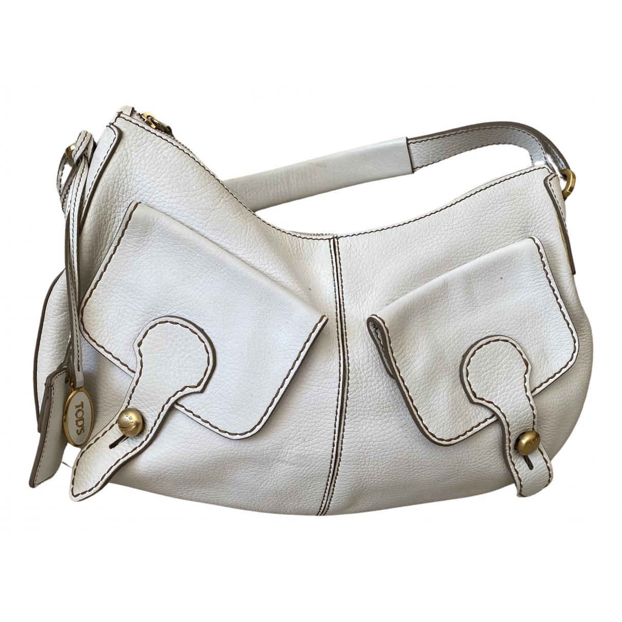 Tod's N White Leather handbag for Women N