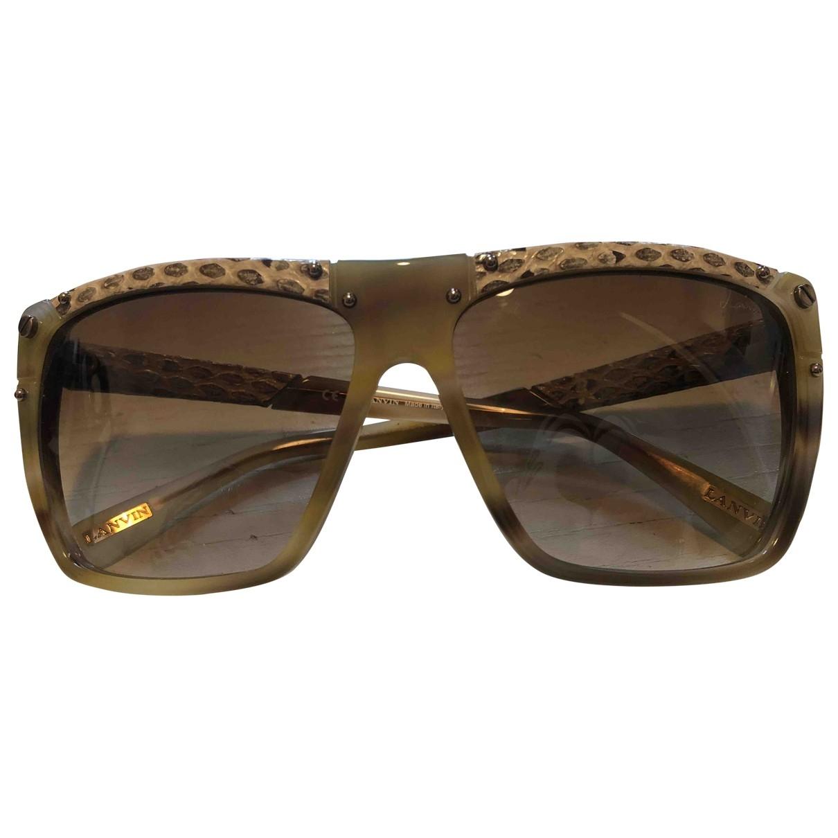 Lanvin \N Beige Sunglasses for Women \N