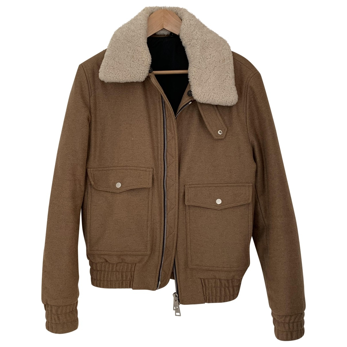 Ami \N Camel Wool jacket  for Men M International