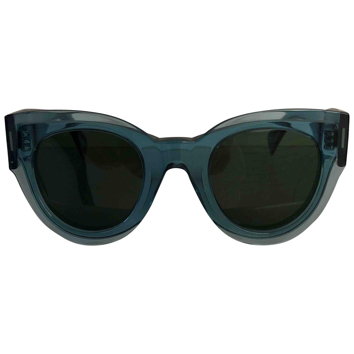 Celine Tilda Blue Sunglasses for Women \N