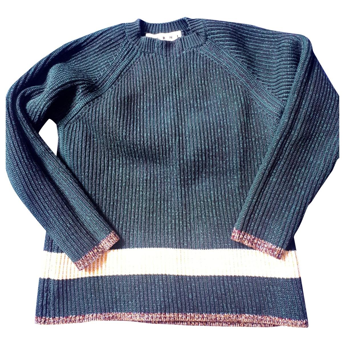 Marni - Pulls.Gilets.Sweats   pour homme en coton - vert