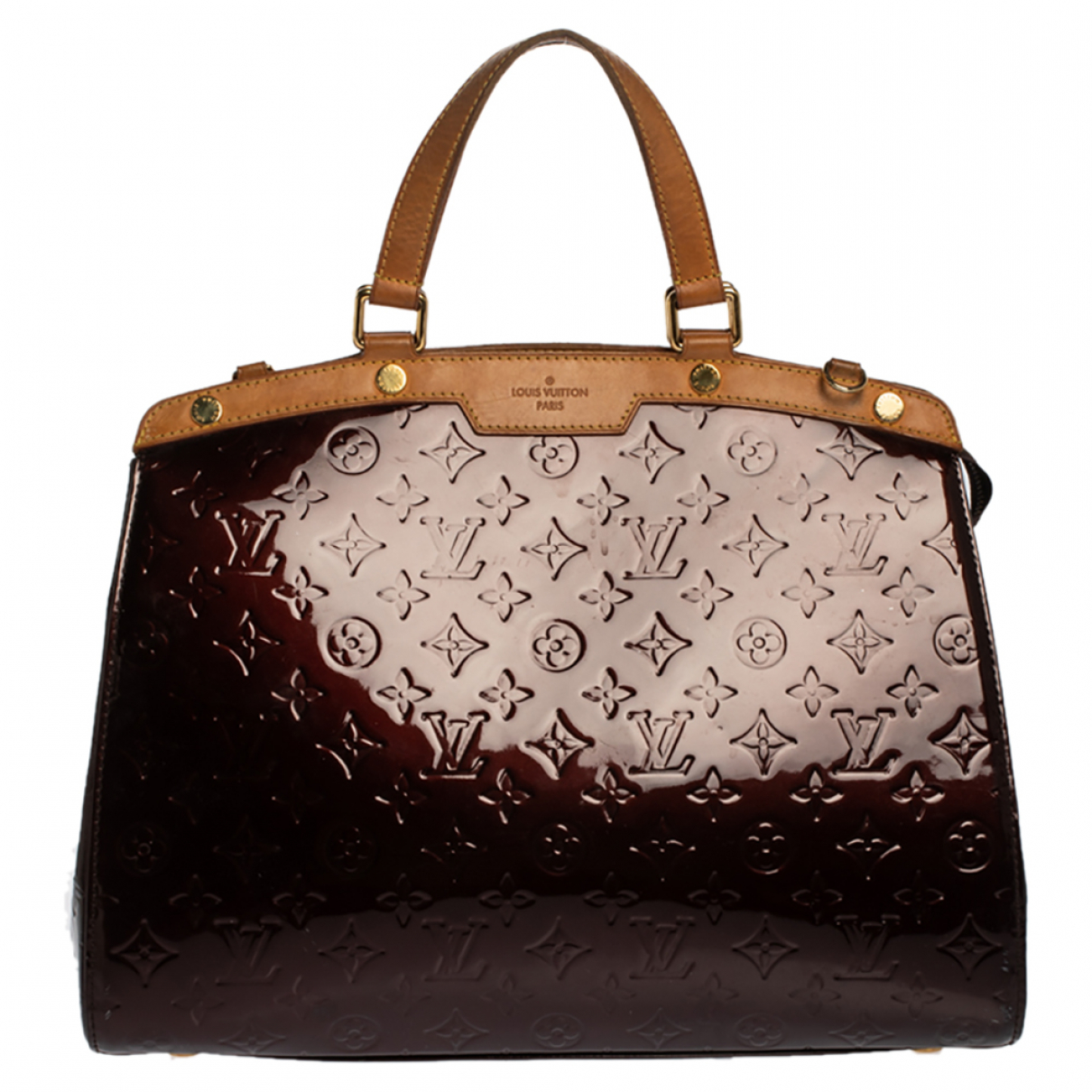 Cartera Brea de Charol Louis Vuitton