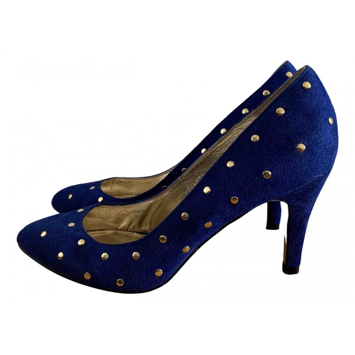 Miss Selfridge \N Pumps in  Blau Leinen
