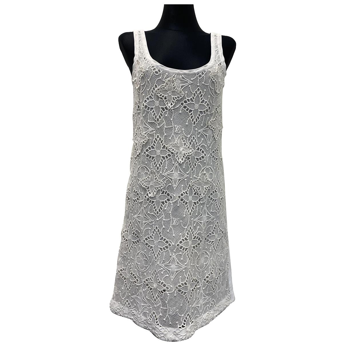 Louis Vuitton - Robe   pour femme - ecru