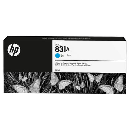 HP 831A CZ683A Original Cyan Latex Ink Cartridge 775ml