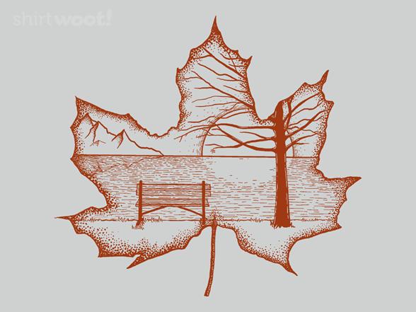 Dotty Autumn T Shirt