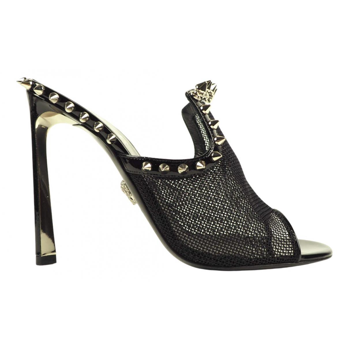 Philipp Plein - Sandales   pour femme en cuir - noir