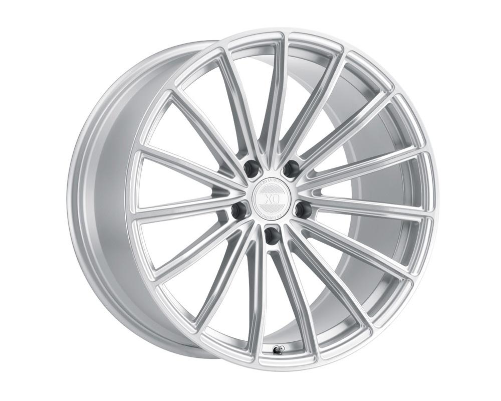 XO Luxury London Wheel 19x8.5 5x114.30 35mm Silver w/ Brushed Face