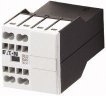 Eaton Auxiliary Contact - NO/NC, 2 Contact, Surface Mount, 10 (DC) A, 4 (AC) A