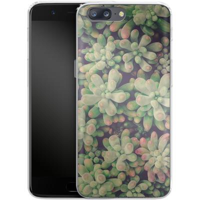 OnePlus 5 Silikon Handyhuelle - Kingwood Soft Cactus von Joy StClaire