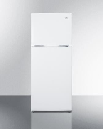 FF1084W 24 Energy Star Rated Apartment Size Top Freezer Refrigerator with 9.9 cu. ft. Capacity  Frost-Free Operation  Door Storage  Clear Crispers