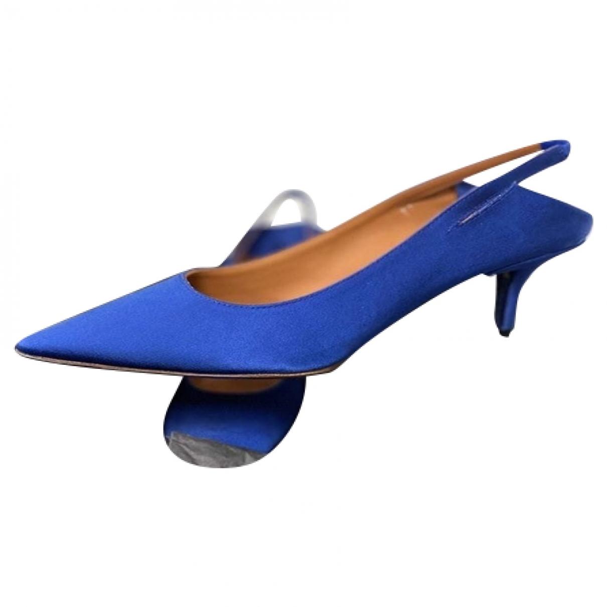 Vetements - Sandales   pour femme - bleu