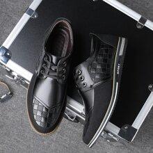 Zapatos vestir de hombres con cordon delantero