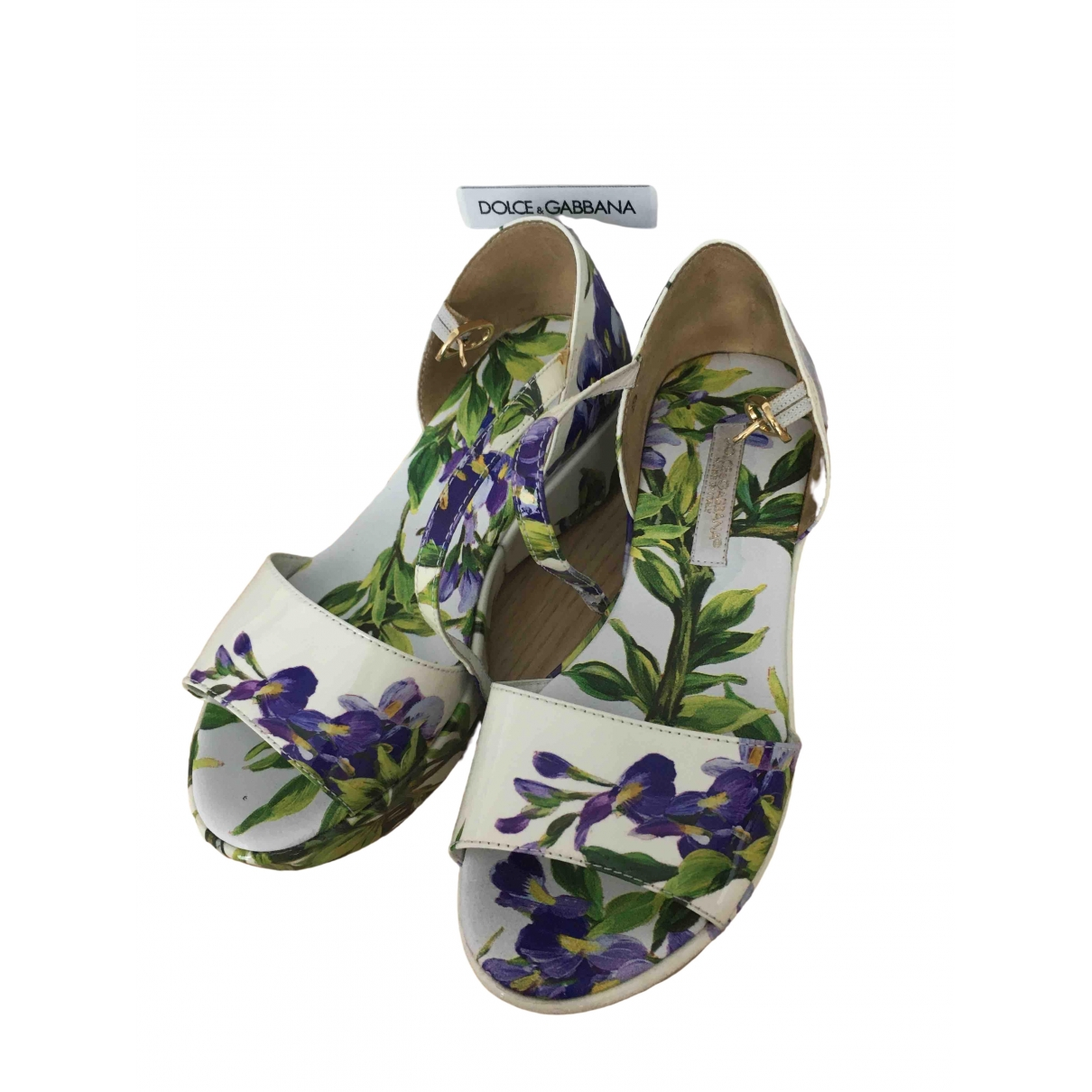 Dolce & Gabbana \N White Leather Sandals for Kids 29 EU
