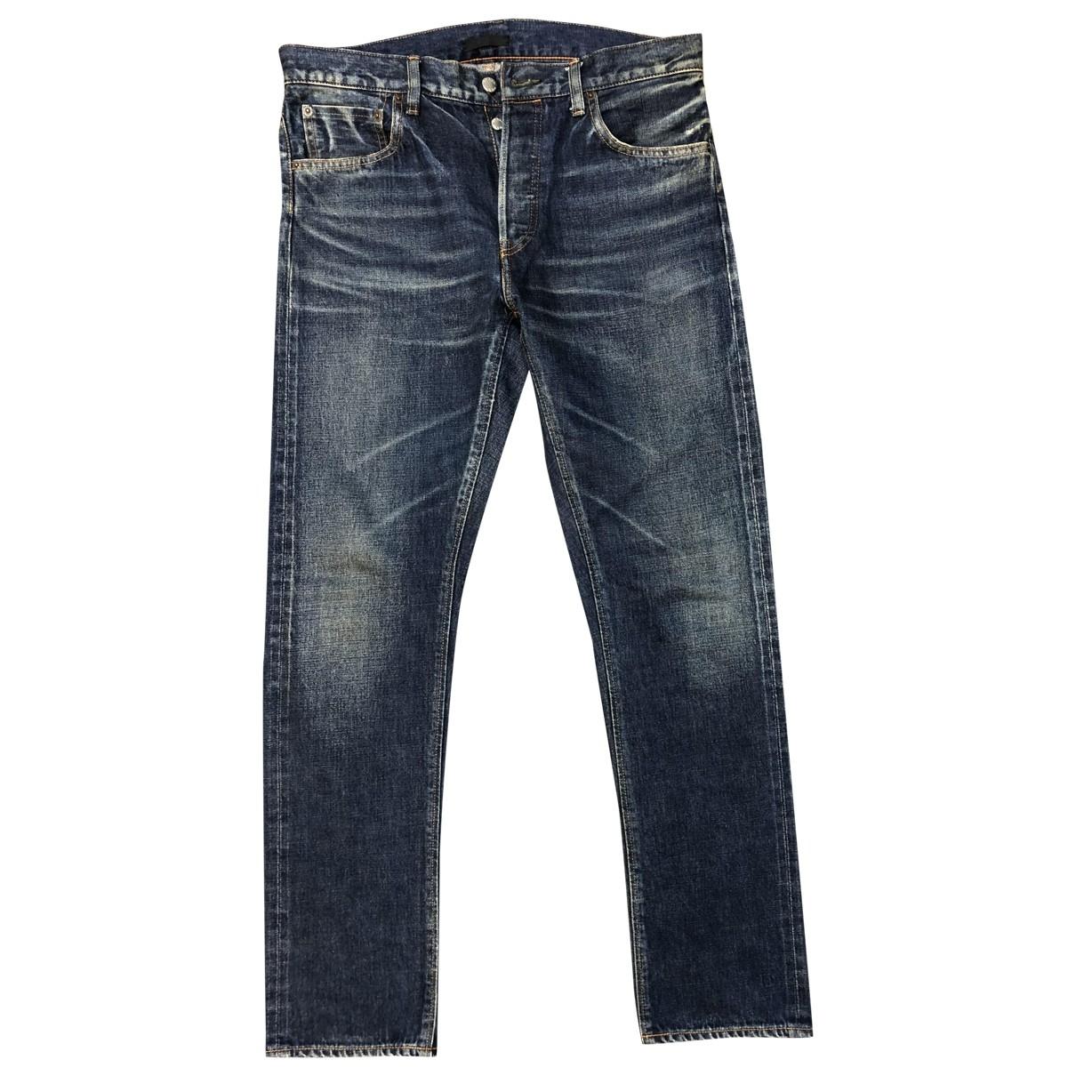 Prada \N Blue Cotton Jeans for Men 31 US