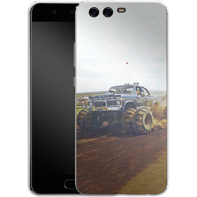 Huawei P10 Silikon Handyhuelle - Off Road von Bigfoot 4x4