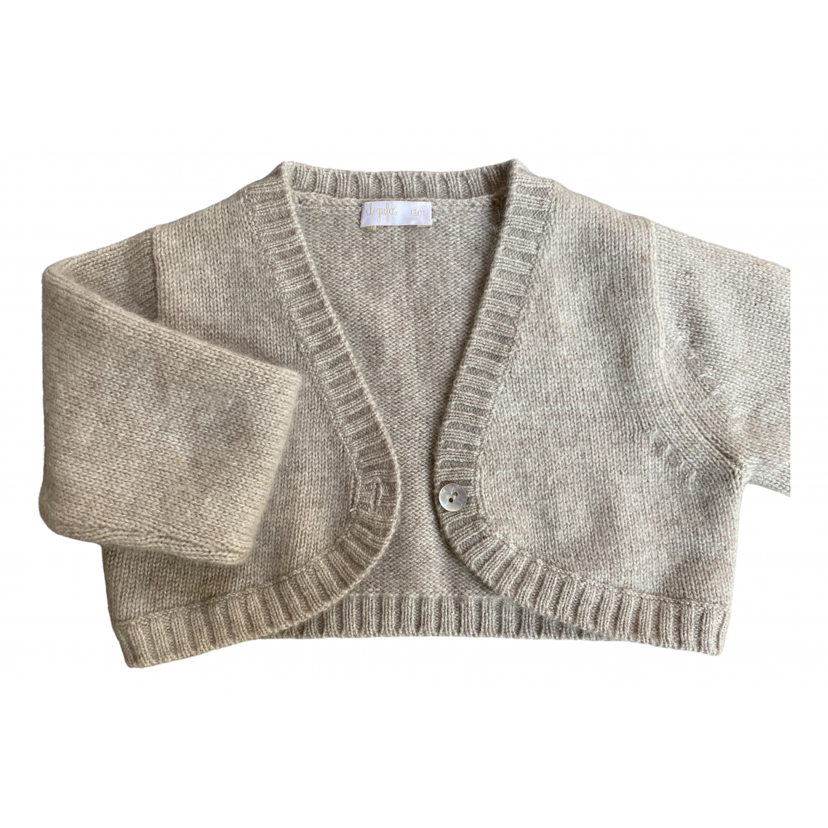 Il Gufo \N Beige Cashmere Knitwear for Kids 12 months - up to 74cm FR
