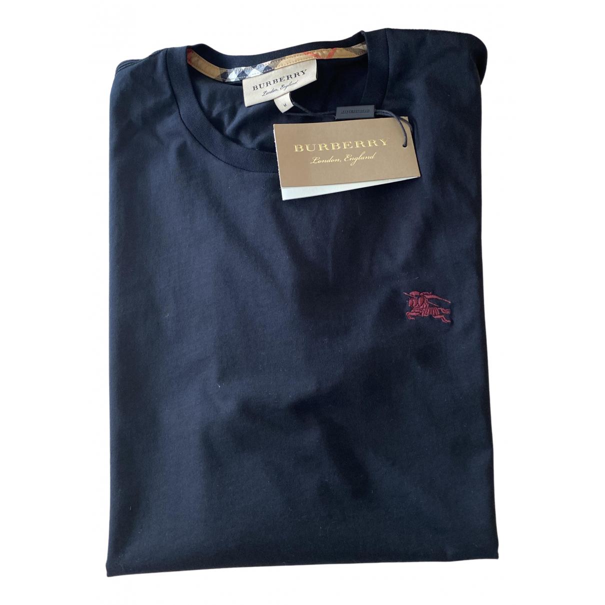 Burberry N Black Cotton T-shirts for Men M International