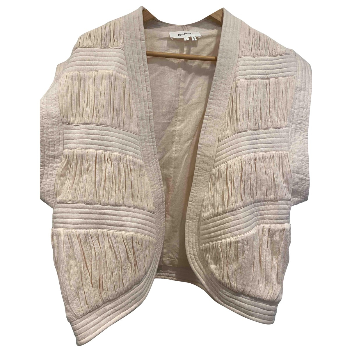 Ba&sh - Pull Spring Summer 2019 pour femme en coton - rose