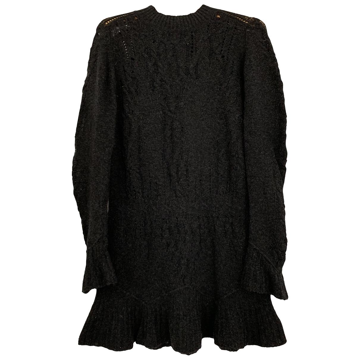 Theyskens Theory - Robe   pour femme en laine - anthracite