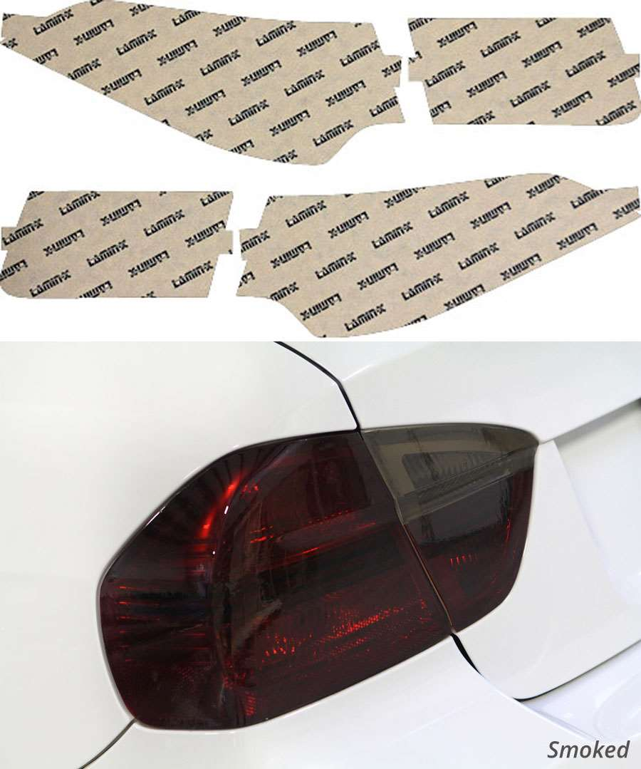 Acura TSX Sedan 09-14 Smoked Tail Light Covers Lamin-X AC215S