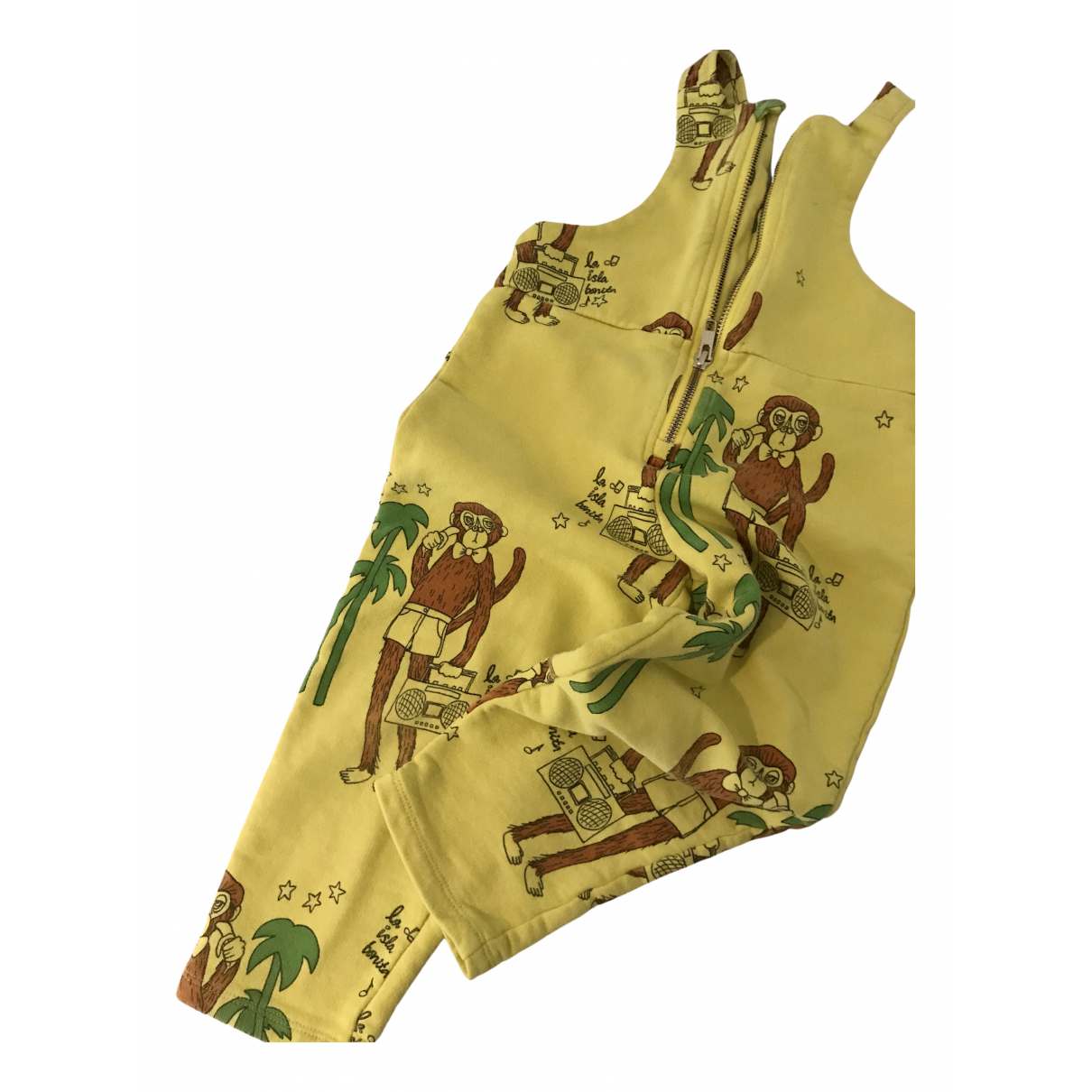 Mini Rodini - Pantalon   pour enfant en coton - jaune