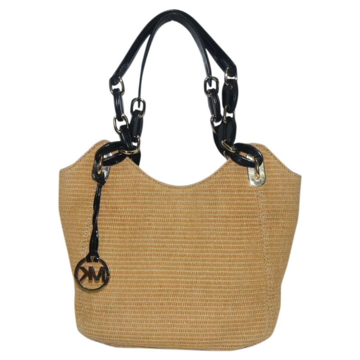 Michael Kors \N Gold Tweed handbag for Women \N