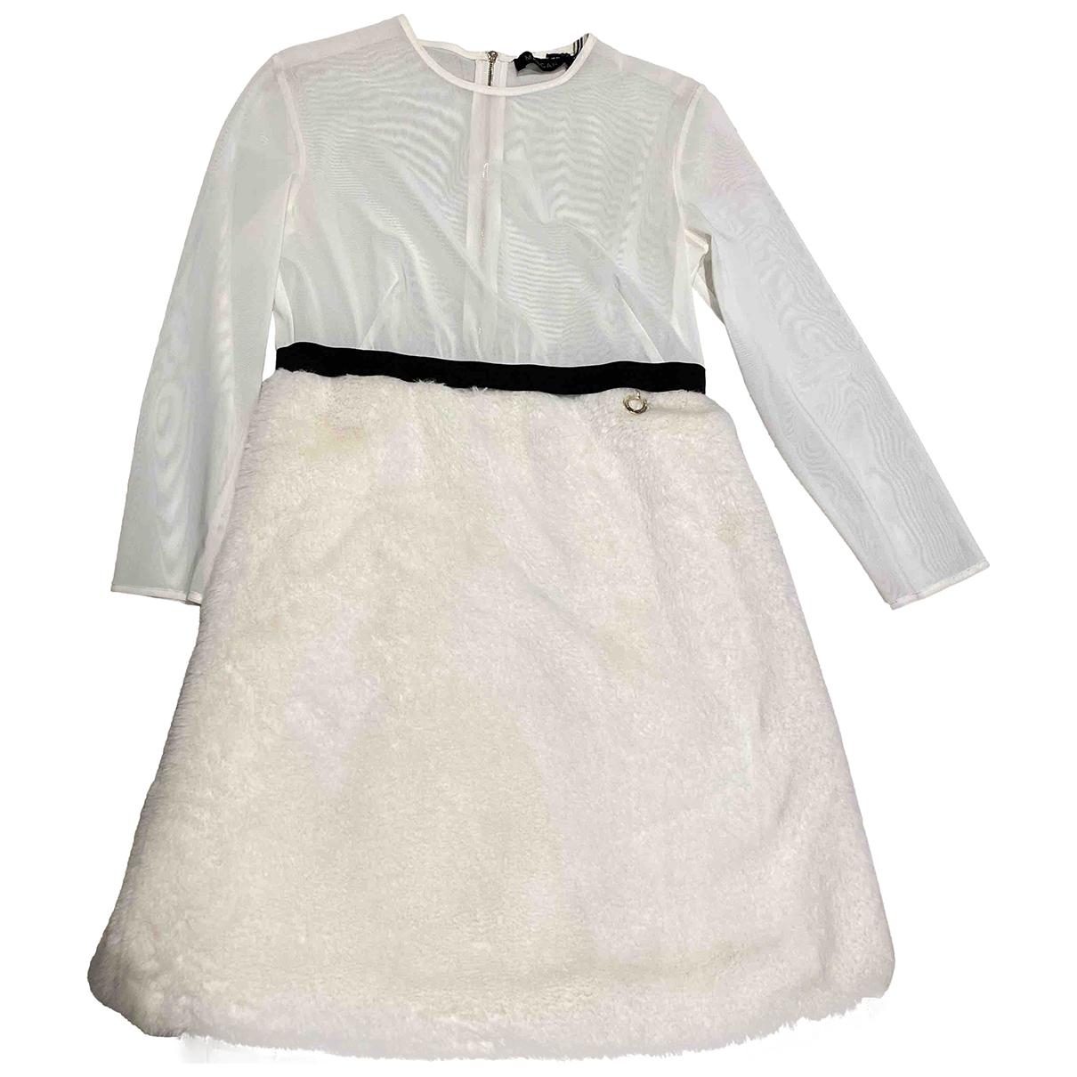 Mangano \N White dress for Women 42 IT