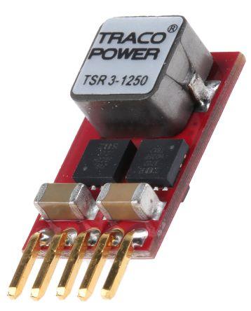 TRACOPOWER Through Hole Switching Regulator, 0.6 → 6V dc Output Voltage, 4.5 → 14V dc Input Voltage, 3A