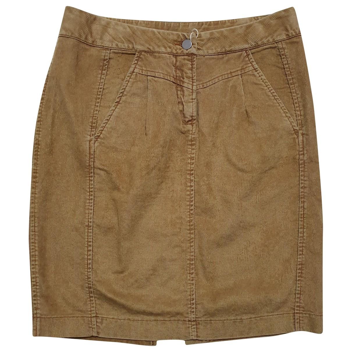 Evisu \N Brown Cotton skirt for Women M International