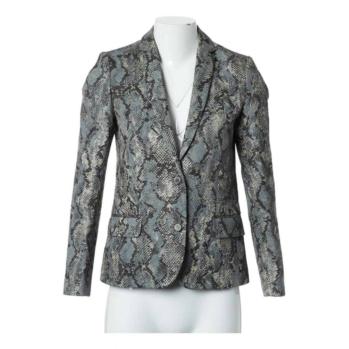 Zadig & Voltaire - Veste   pour femme en coton - bleu