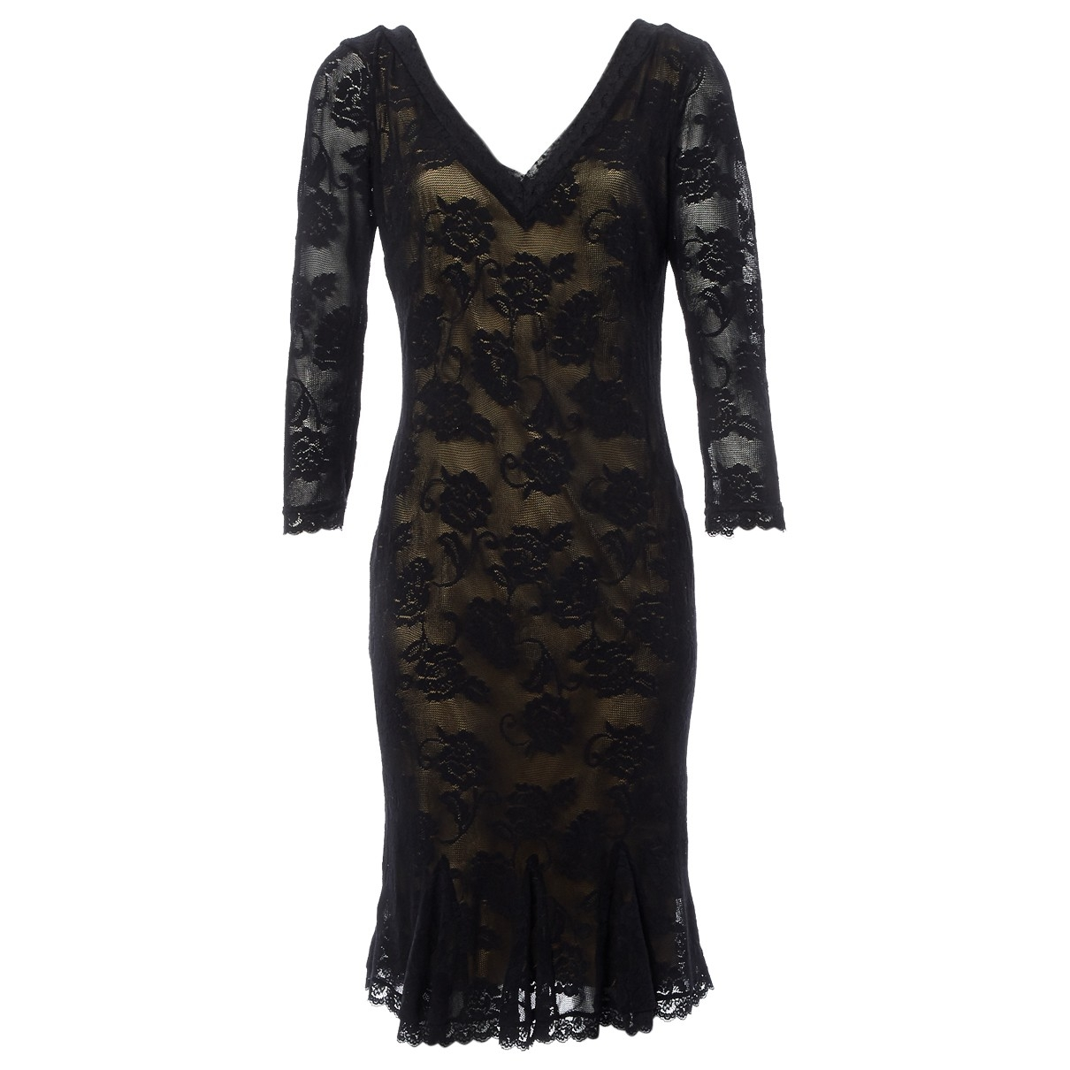 D&g \N Kleid in  Schwarz Synthetik