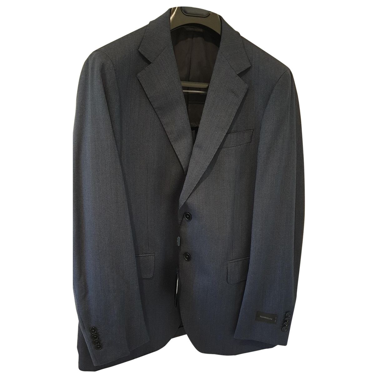 Tombolini \N Blue Wool Suits for Men 52 IT