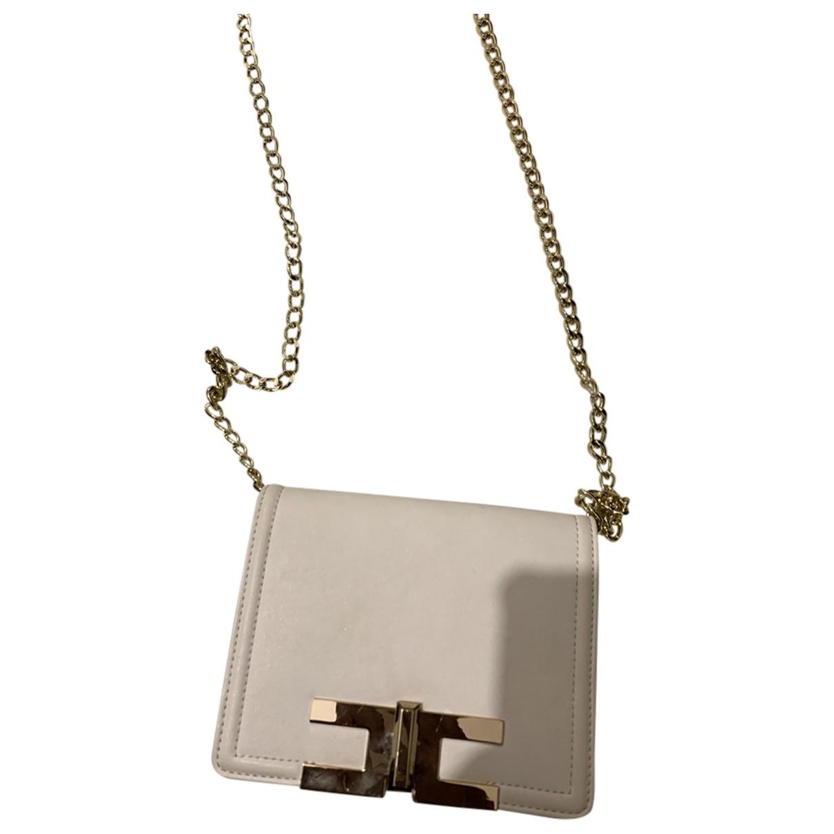 Elisabetta Franchi \N White Leather handbag for Women \N
