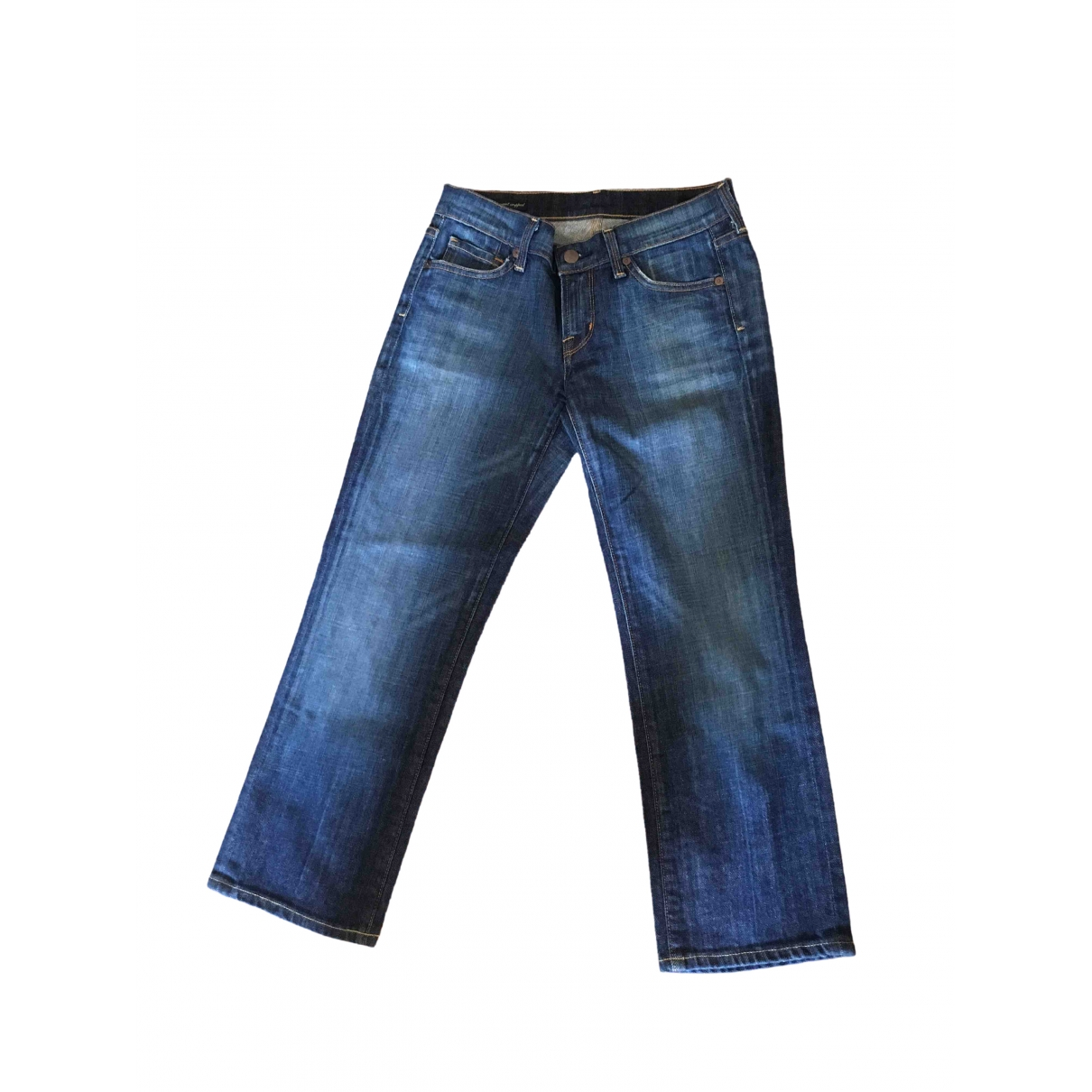Citizens Of Humanity \N Blue Cotton Jeans for Women 26 US