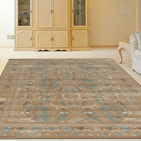 Colosseo Danelle Traditional Oriental Vintage Area Rug, One Size , Beige